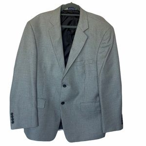 STAFFORD ESSENTIALS SPORTS COAT HOUNDSTOOTH BLACK